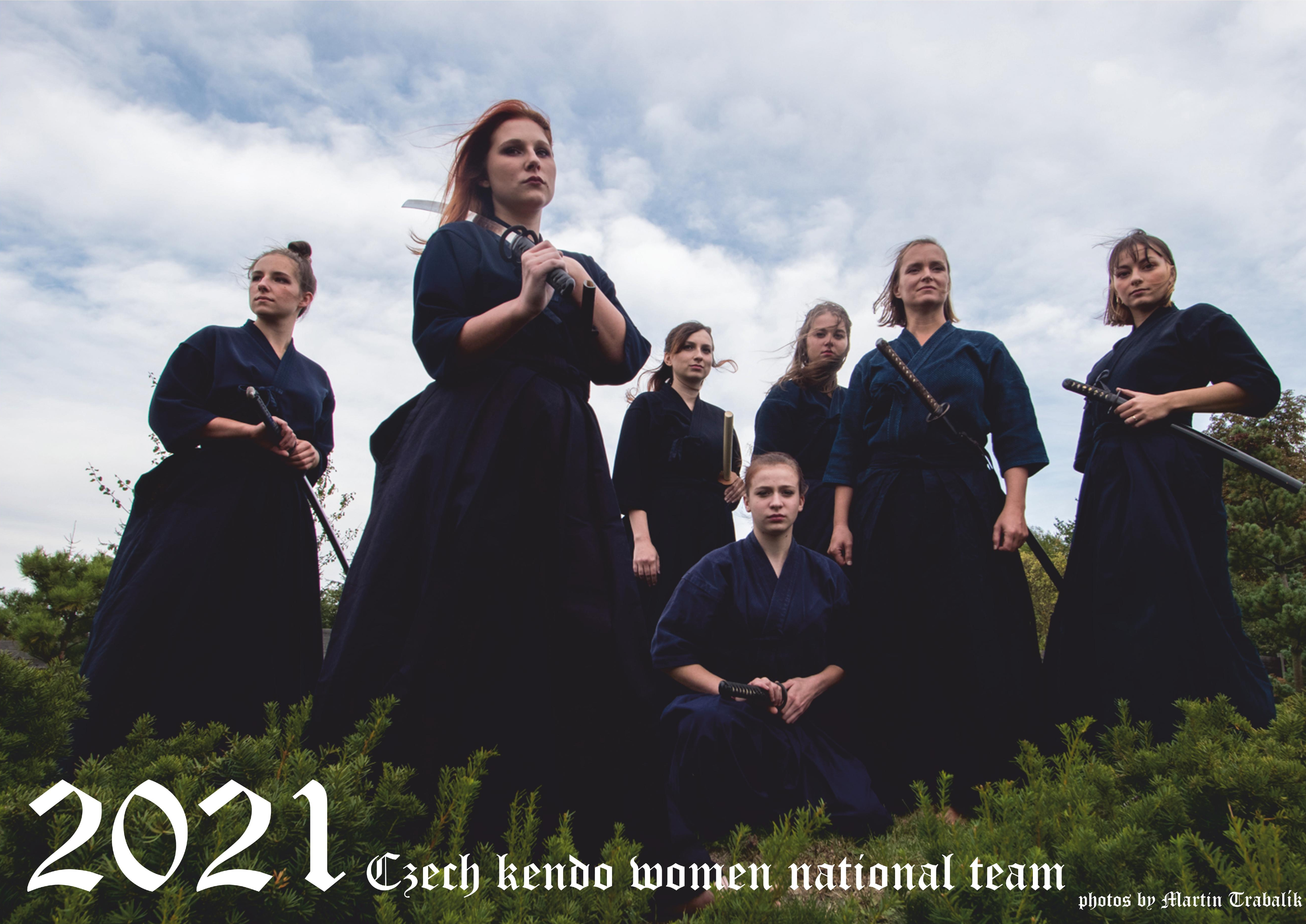 Kalendář 2021 CZECH KENDO WOMAN NATIONAL TEAM