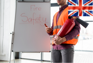 E-learning course Fire safety - senior employees